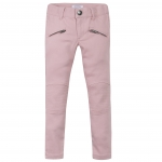 Trousers in pale pink